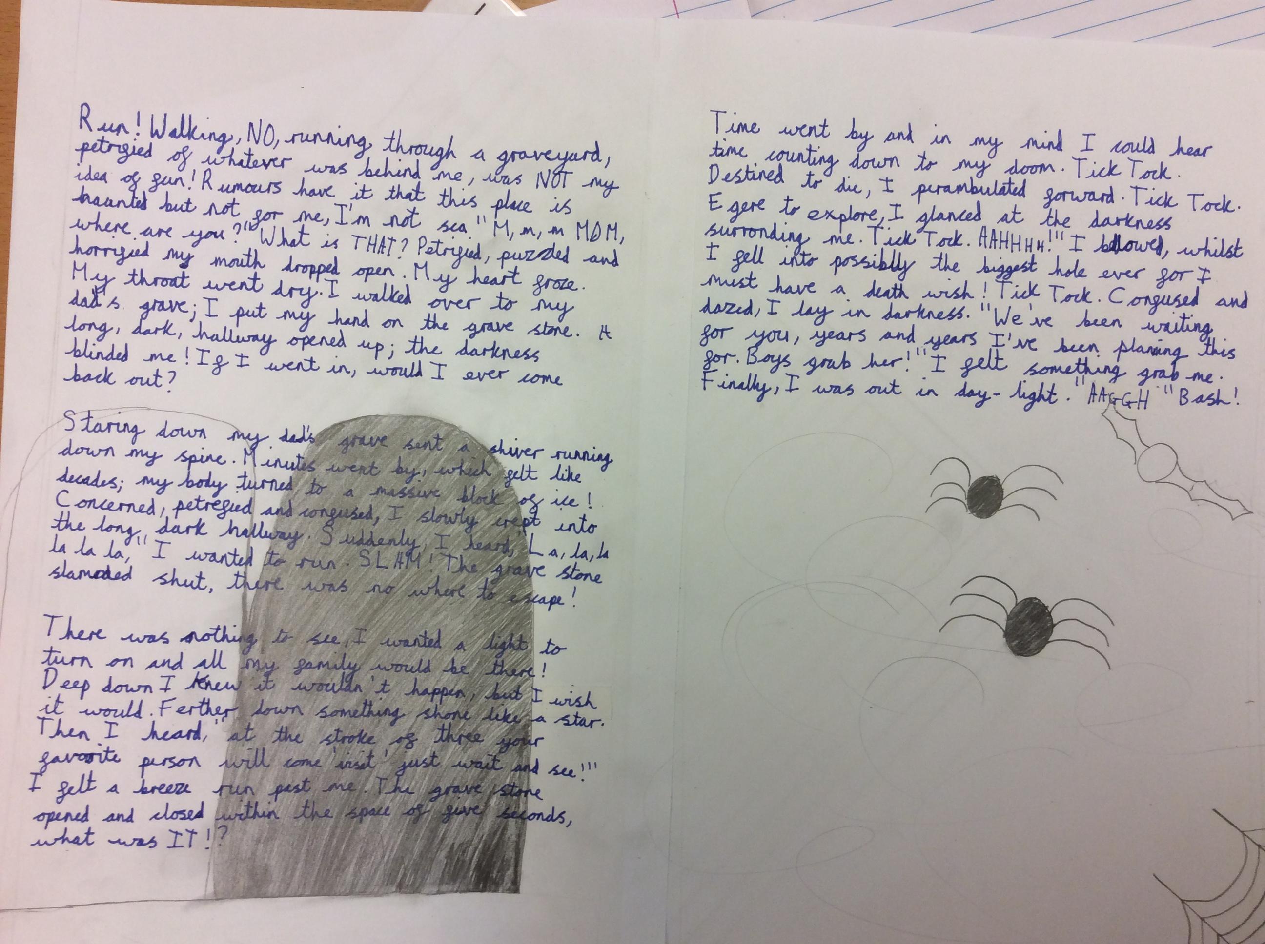 Y6 Scary Suspense Stories Lickey Hills Primary School