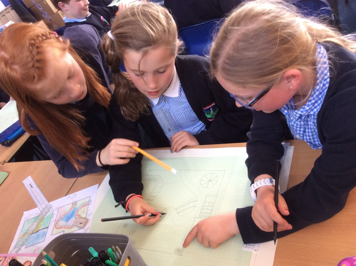 year 4s landscape designers have been hard at work researching designing and presenting their ideas for a ks2 garden they have produced designs that are - Garden Design Ks2